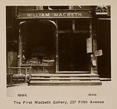 Macbeth Gallery First Location