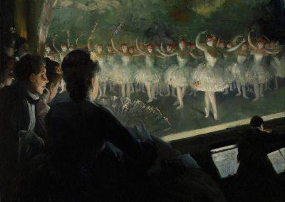Macbeth Gallery Everett Shinn-The White Ballet